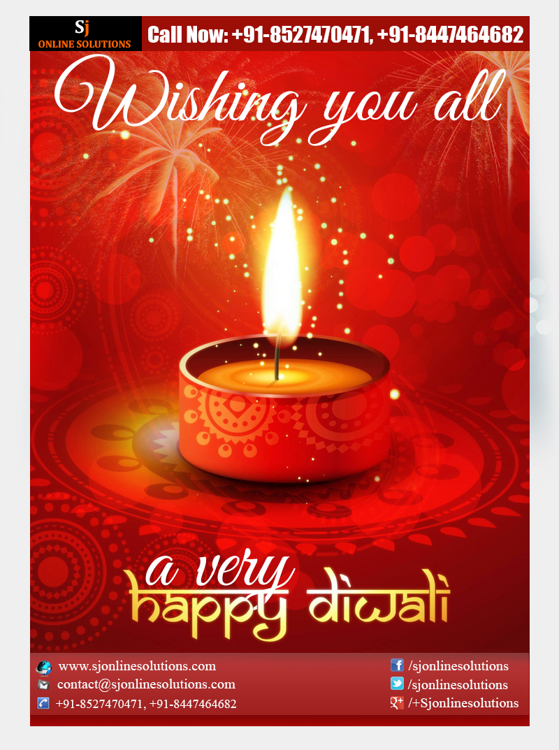We Wish You All A Very Happy Diwali