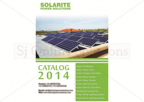 Catalogue Design For Solarite Power Solutions