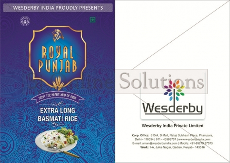 Brochure Design For Wesderby India
