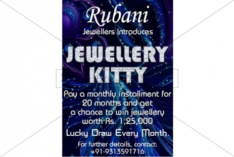 Creative Designing For Jewellery Kitty At Rubani Fabrics And Jewellers