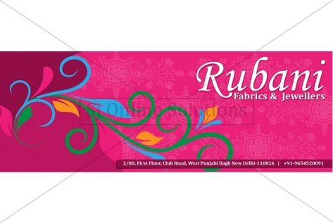 Cover Picture Designing For Rubani Jewellers Facebook Page