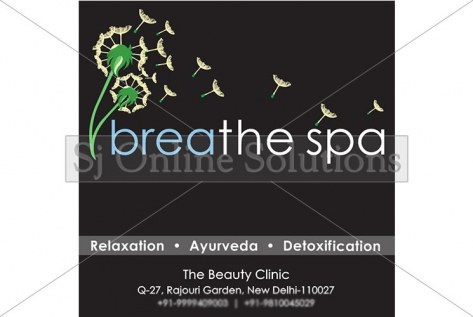 Hoarding Designed And Printed For Breathe Spa