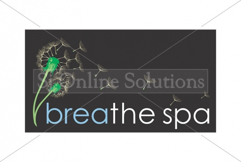 Logo Designing For Breathe Spa