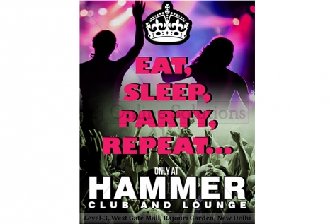 Creative Design For Club Hammer