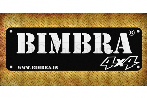 Banner Designing For Bimbra 4x4
