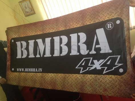 Banner Printing For Bimbra 4x4