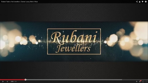 Video Designing For Rubani Fabrics And Jewellers Promotions
