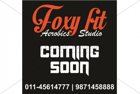 Banner Designing For Foxy Fit