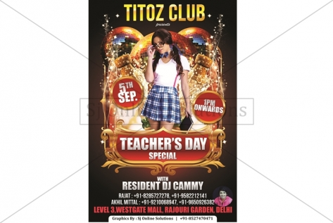 Creative Design For Teachers Day Party At Titoz
