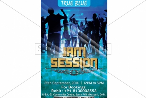 Jam Session Creative For True Blue Vikaspuri