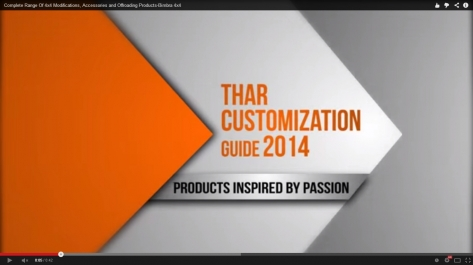 Video Designing For Thar Customization Guide By Bimbra 4x4
