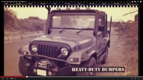 Video Designing For Bimbra4x4 Promotions