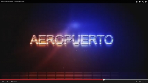 Video Making for Introducing Club Aeropuerto