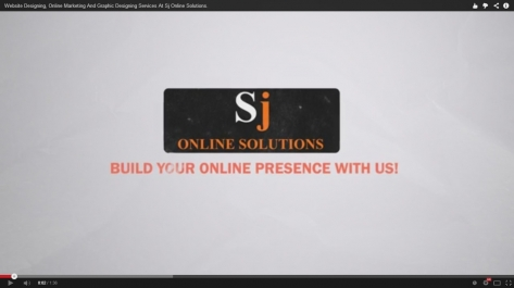 Video Presentation of Services by Sj Online Solutions