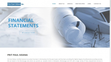 Website for Psidana CGA