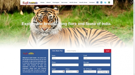 Website for Sofi Travels