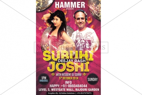 Creative Designing For Party With Subuhi Joshi