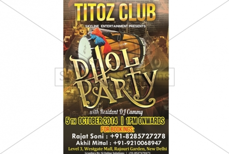 Creative Designing For Dhol Party