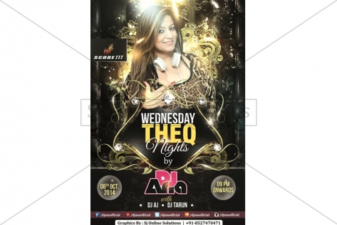 Wednesday THE Q Nights By DJ ANA