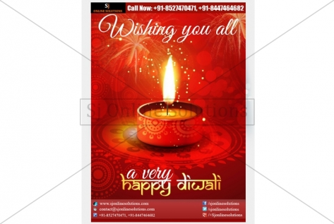 Newsletter Designing For Diwali