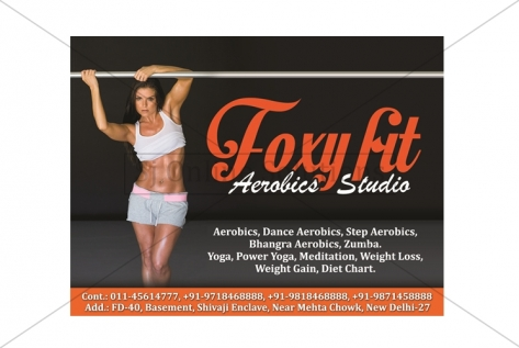 Stickers designing For Foxy Fit